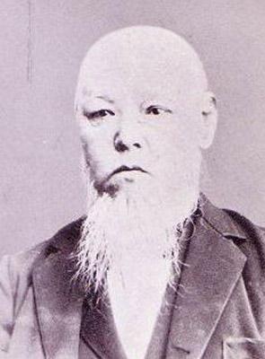 津田仙の肖像